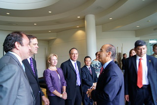 Mexican President Felipe Calderon at Cisco