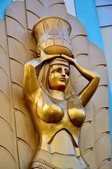 Statue at El Dorado Casino