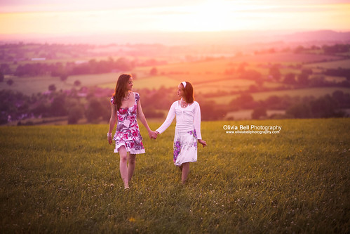 Sisters in a Summer Heatwave (series)