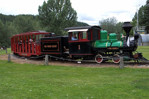 Fort George Park Steam train