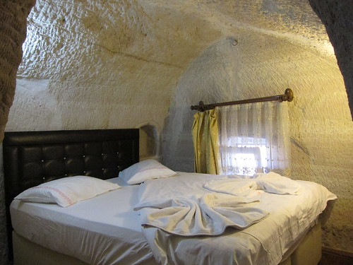 Our cave room in Cappadocia