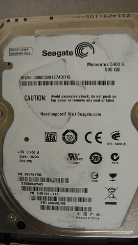 Data Recovery ST9500325AS