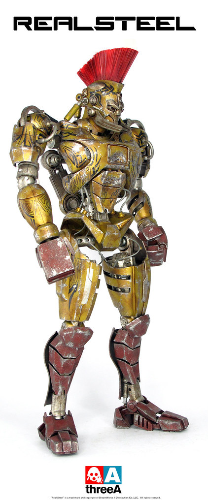 3A x REAL Steel Midas