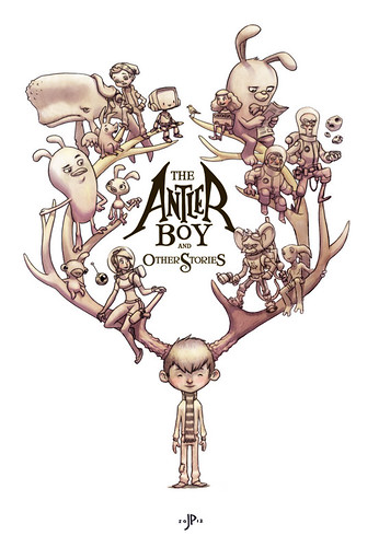 The Antler Boy Cover - Tonal