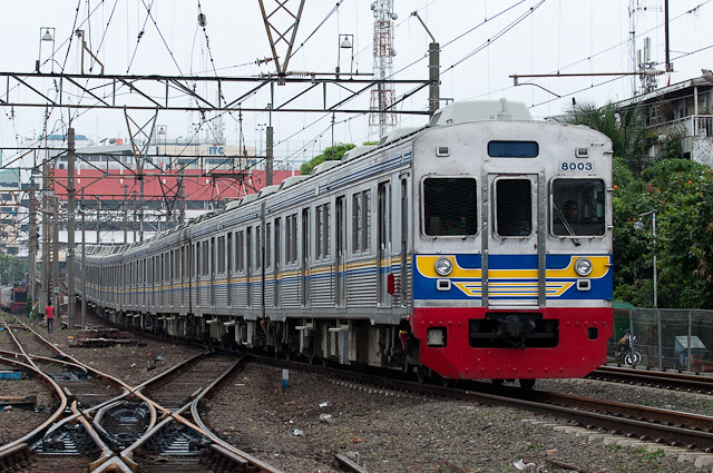 KRL Seri8000 元東急電鉄 8000系