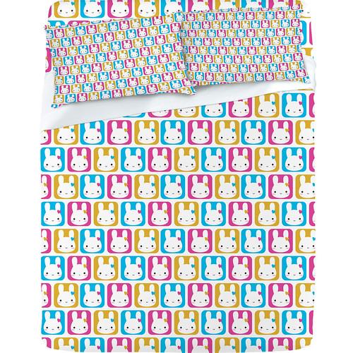 Bunny Squares Sheet Set