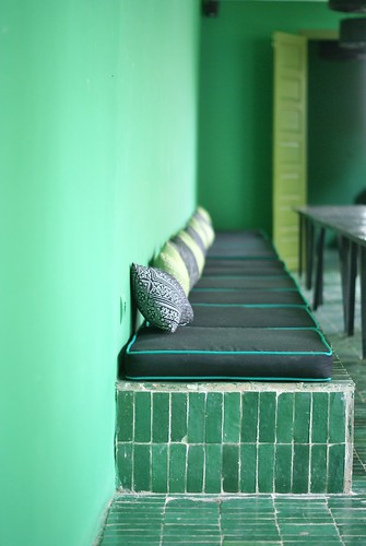 le jardin - green oasis in the souk by wood & wool stool
