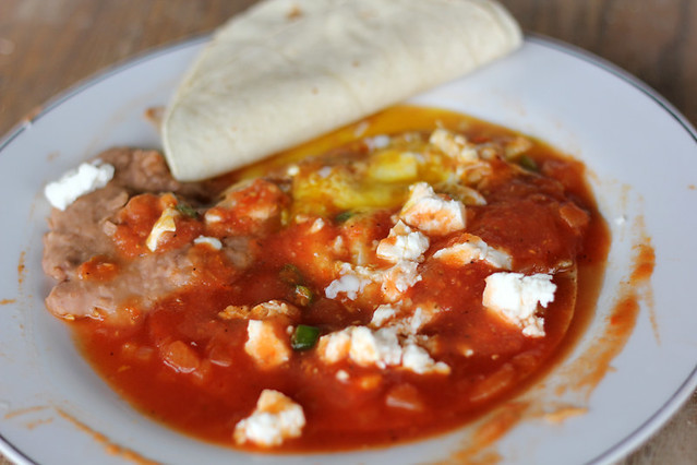Mexican huevos rancheros