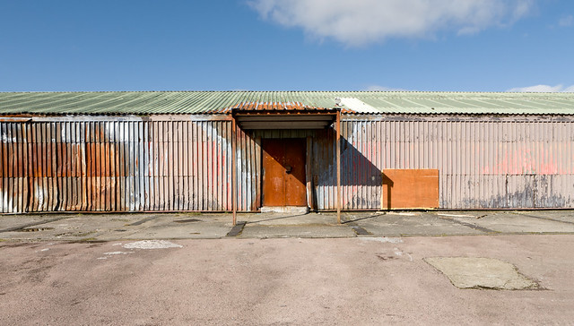 Shed, Penrhys, Wales