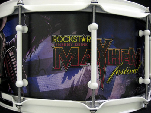 Mayhem SJC Snare Drum