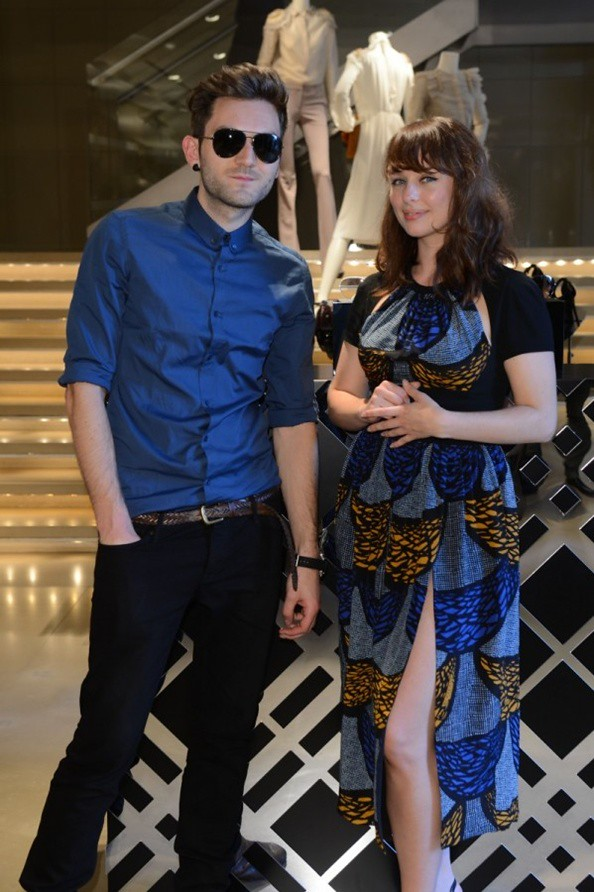 99 M - he Daydream Club at the Burberry Eyewear event in Milan