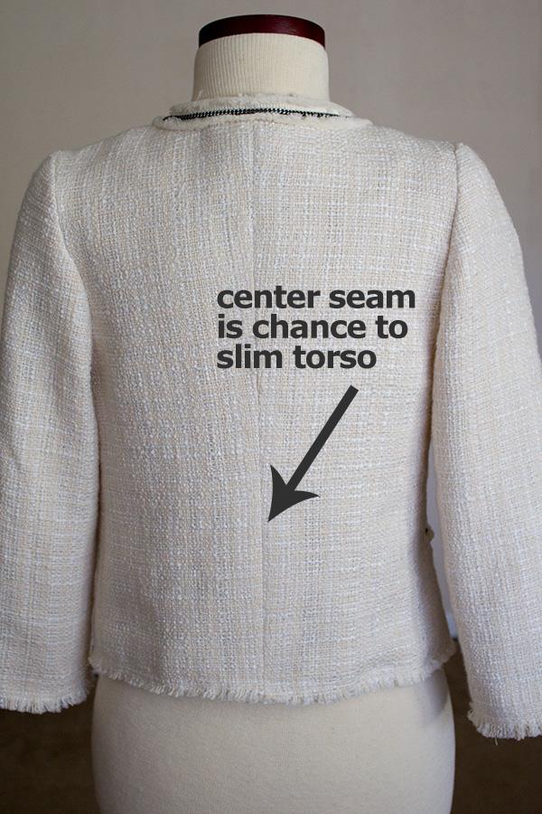 center-seam