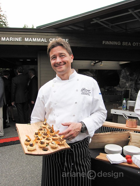 Darren Brown, Executive Chef, Fairmont Pacific Rim
