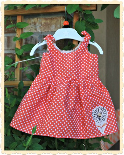 Itty Bitty Baby Dress - side 1