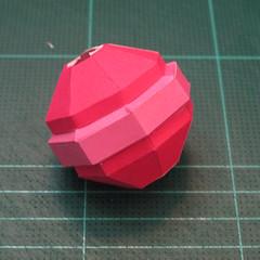 วิธีทำโมเดลกระดาษตุ้กตาคุกกี้รัน คุกกี้รสสตอเบอรี่ (LINE Cookie Run Strawberry Cookie Papercraft Model) 038