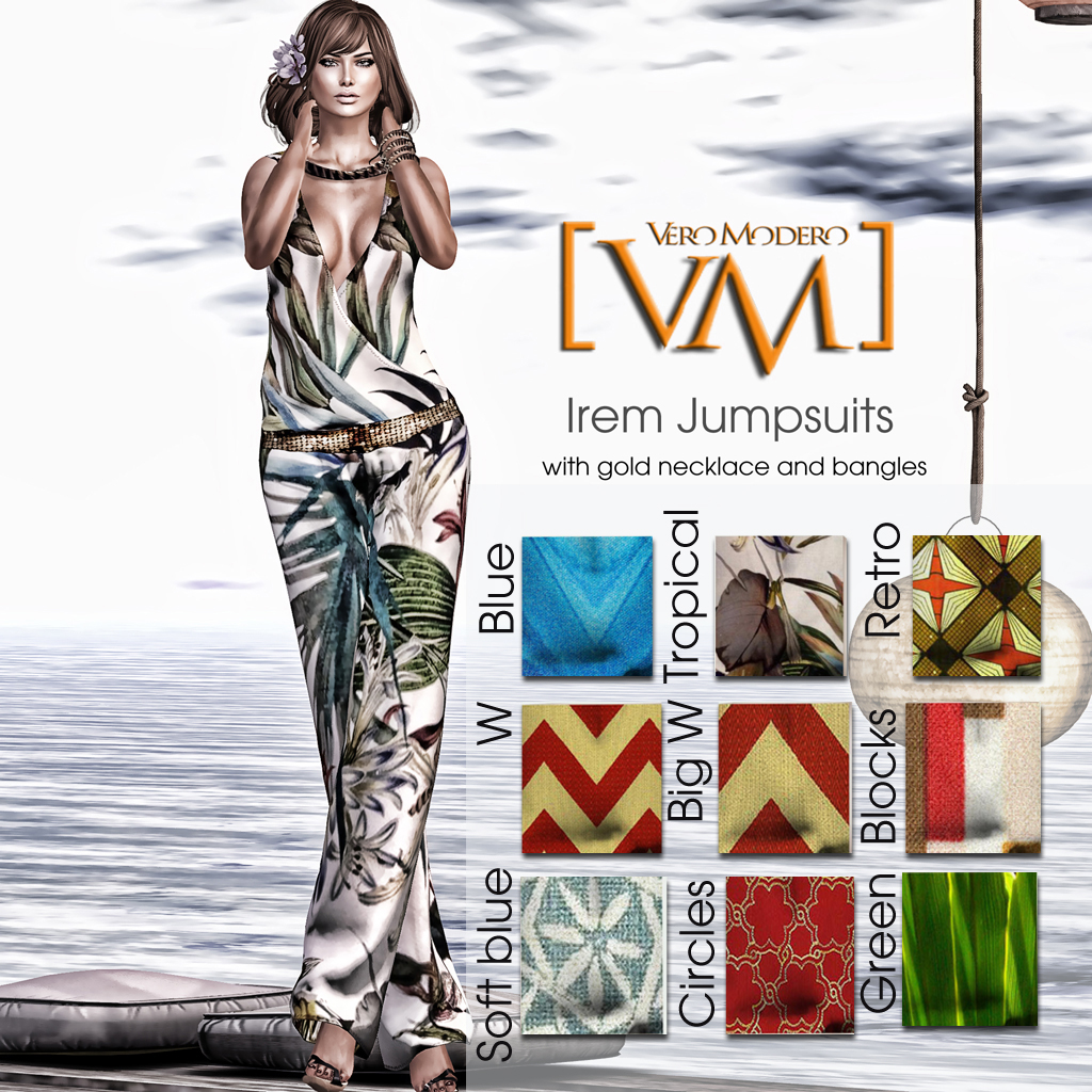 [VM] VERO MODERO  Irem Jumpsuits All Patterns with Names
