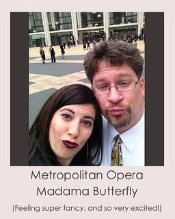 NYC Selfie Metropolitan Opera