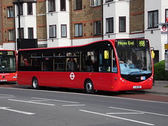 metropolitan area, vehicle, optare solo, transport, mode of transport, public transport, land vehicle, bus,
