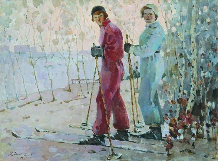 20世纪俄罗斯绘画杰作18
