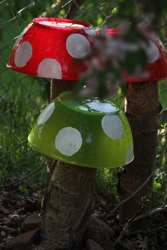 make a mushroom