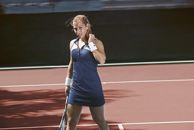 001 LACOSTE Dominika Cibulkova Tenue Roland Garros 2014 © CBerlet