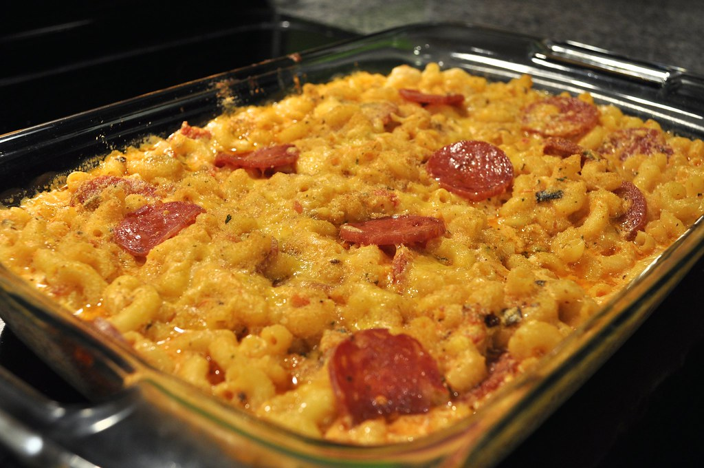 Pizza Mac & Cheese