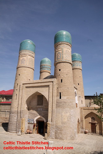 Chor-Minor Minaret, Bukhara