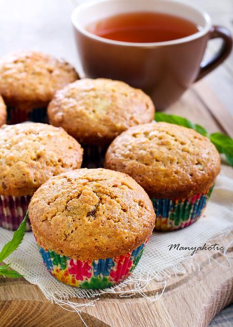Multi grain muffins