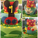 Mickey Mouse Clubhouse cake - <span>©CupCakeBite www.cupcakebite.com</span>