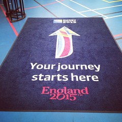 And so it begins... #thepack #england2015 #rugbyworldcup #tryouts #volunteering #rugby @rugbyworldcupofficial @rugbyworldcup