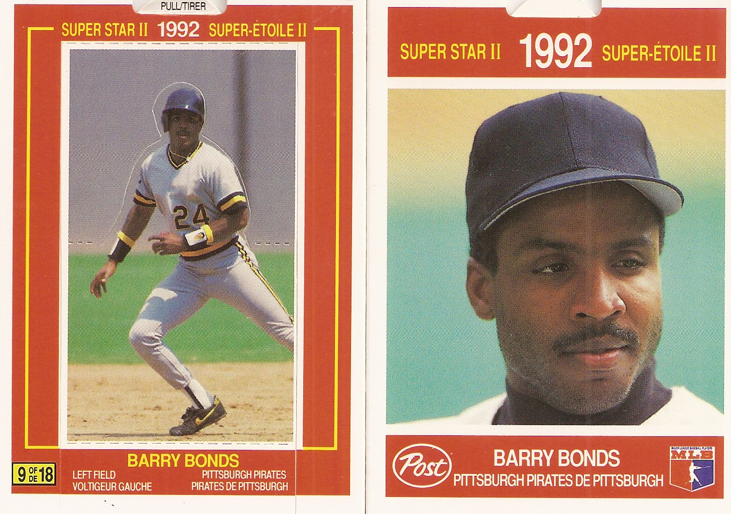 Barry Bonds Price List Supercollector Catalog