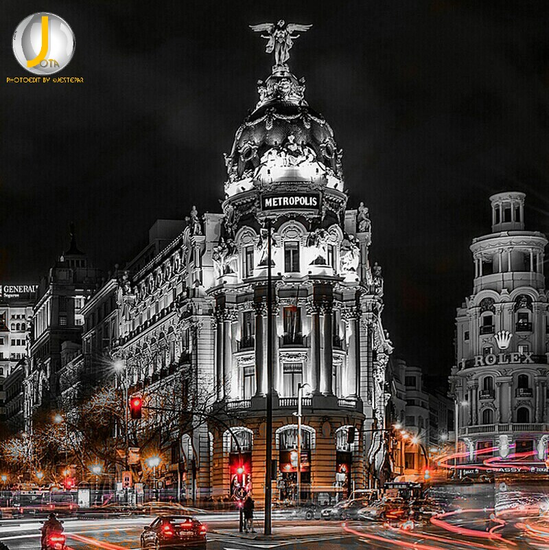 Madrid night  #madrid