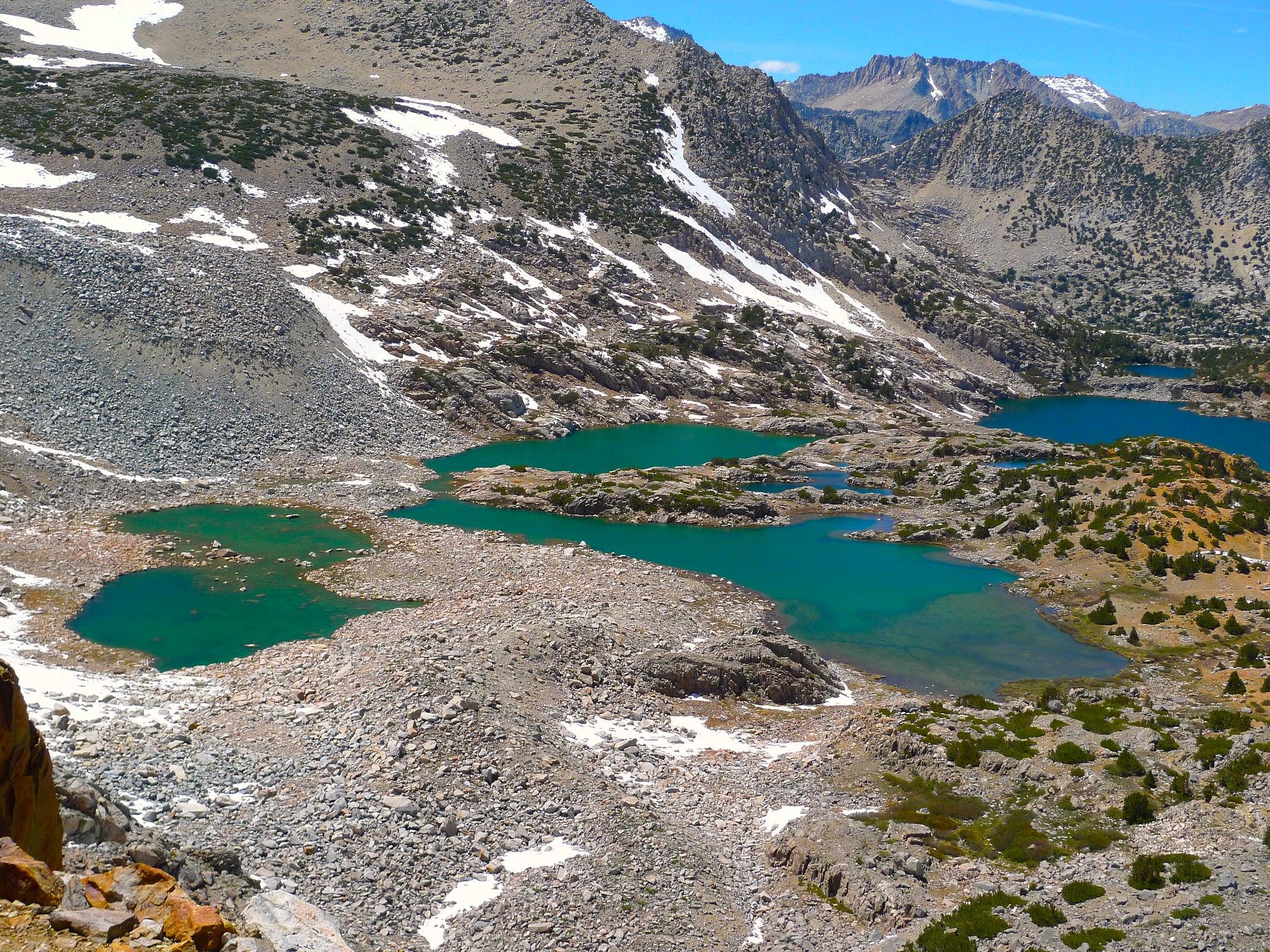 Glacial Bishop Lake