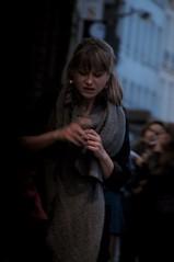 On night street, Paris