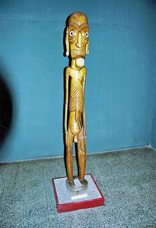 モアイカヴァカヴァ - サンチアゴ 自然史博物館