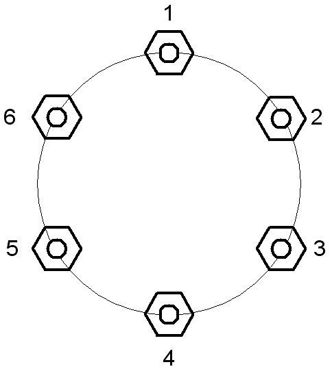 6-bolt pattern