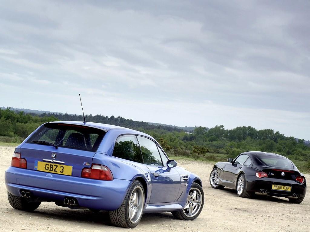 S54b32 M Coupe Estoril Blue Estoril Black Coupe