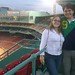 Luis and Jess at Fenway Park