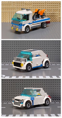 Lego City 7286- 3in1