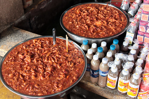 Fermented shrimp, crab and fish pastes for sale