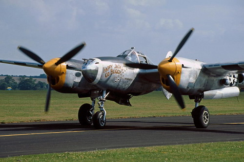 P-38J Lightning, N3145X ('Happy Jack's Go Buggy')