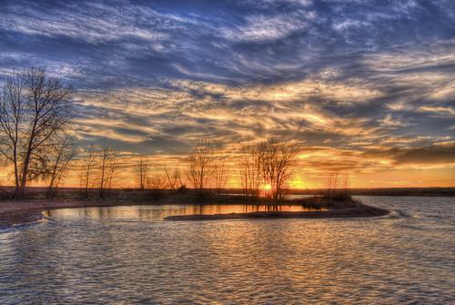 sky sun lake nature water clouds sunrise landscape colorado denver chatfield hdr facebook littleton 201204