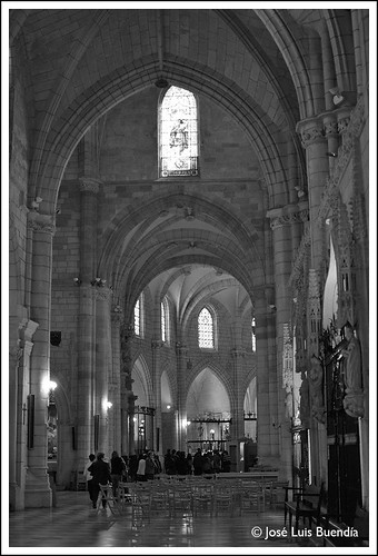 Interior Catedral by José Luis Buendía
