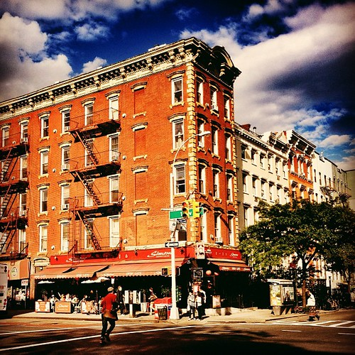 Summer Sky - East Village - New York City