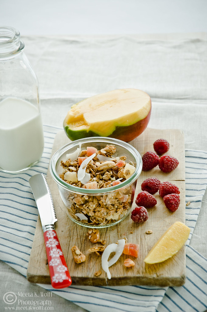 Tropical Fruit and Nut Granola (0354) by Meeta K. Wolff