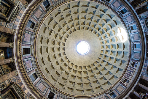 Pantheon From The Floor - 1