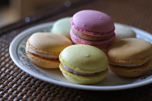 Parisian macarons from Pretty Fours