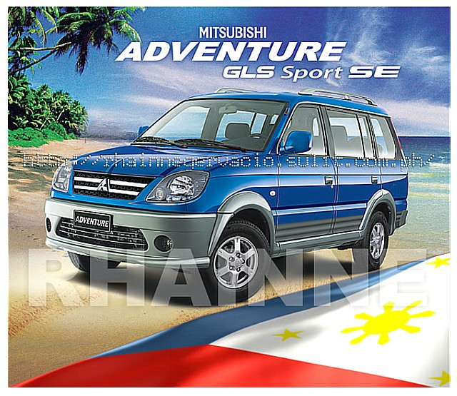 ALL NEW MITSUBISHI ADVENTURE GLS SPORT SE DSL M/T 7/9 SEATER