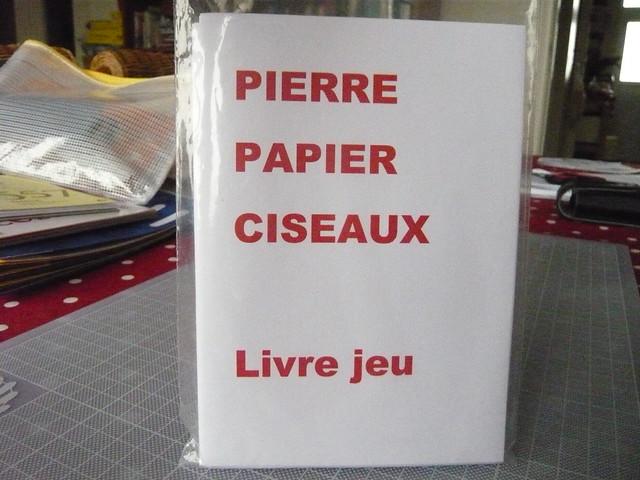 Pierre papier ciseaux - couverture du livre
