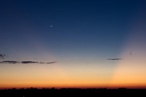 blue sunset moon evening venus pentax horizon kx pentaxkx pentaxm35mm smcpentaxm35mm smcpentaxm35mm128
